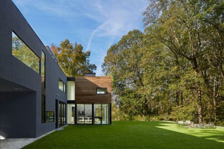 mobilier jardin - Hills-House par Robert M. Gurney - Maryland, USA