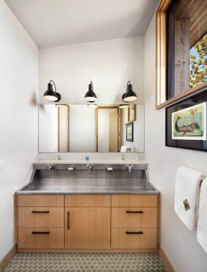 mobilier salle de bains - butterfly-house par Sagemodern - Californie, USA