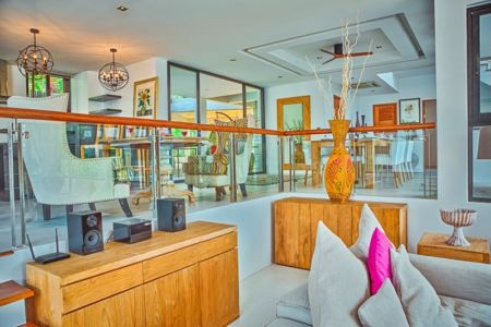 mobilier salon design - villa contemporaine - Phuket, Thaïlande