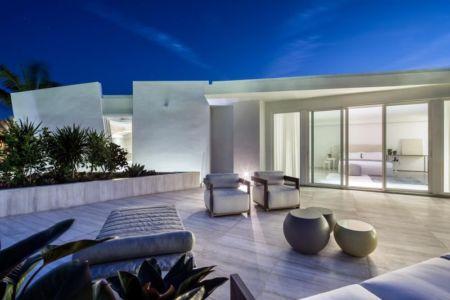 mobilier toit terrasse - The Ark-480 Ocean Blvd par Relance New York - Floride, USA