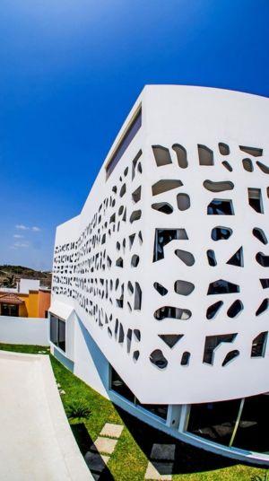 mur design - Nest house par Gerardo Ars Arquitectura - Alvarado, Mexique