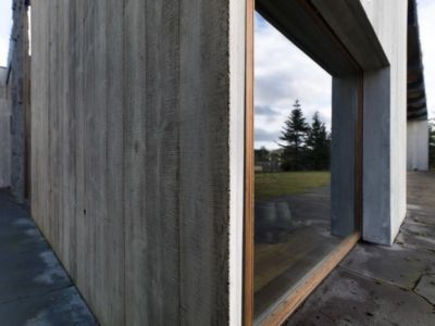 mur extérieur - Bakkaflöt 14 par Studio Granda - Islande