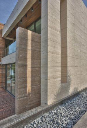 mur façade - Touristic Villa 'S, M, L' par studio SYNTHESIS - Tivat, Montenegro