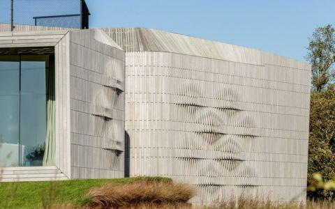 mur sculpté - W.I.N.D House par UNStudio - Pays-Bas