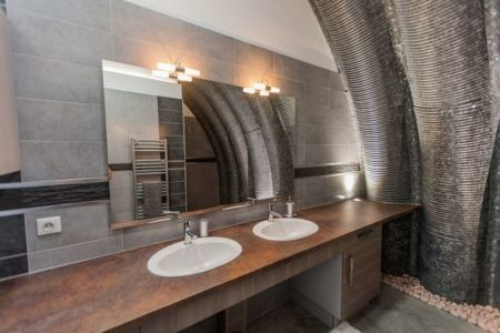 salle de bains - Naturadome par Natura Dream - France