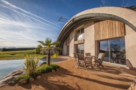 façade terrasse - Naturadome par Natura Dream - France