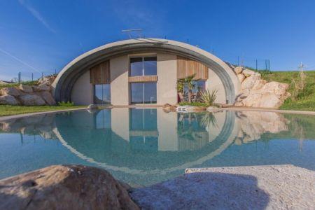 façade piscine - Naturadome par Natura Dream - France