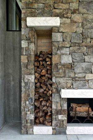 niche à bois - SC Modern I par SBCH Architects - Bray's Island, Sheldon, Usa