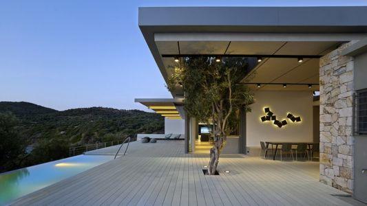 olivier et terrasse - Notre Ntam' Lesvos Residences par Z-level à Agios - Fokas, Grèce