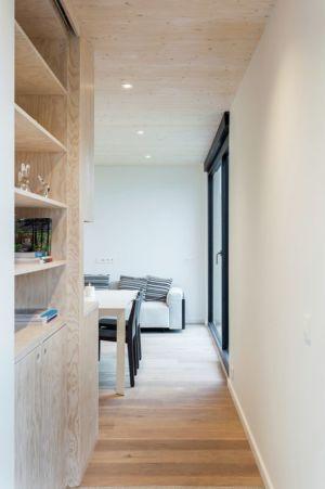 couloir - Zero-Energy par Skilpod - Belgique