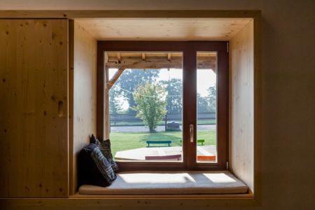 ouverture baie vitrée - ladaa par JKA Jérémie Koempgen Architecture - Craon, France