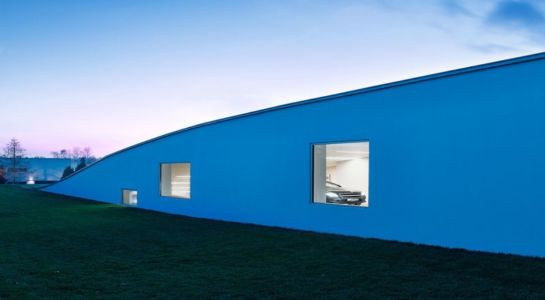 ouverture partie garage - Autofamily House - Robert Konieczny-KWK Promes - Pologne