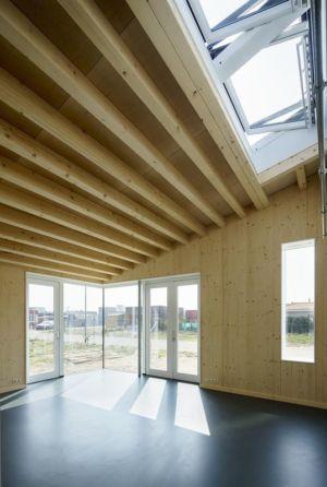 fenêtres de toit - Biobased-Living-Concept par DDacha - Pays-Bas
