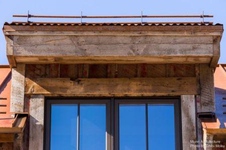 fronton - Camp 88 par Munn Architecture - Colorado, USA