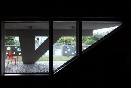 ouverture vitrée - Kyeong Dok Jai par Uroje Khm Architects - Corée du Sud