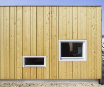 fenêtre côté nord - Biobased-Living-Concept par DDacha - Pays-Bas