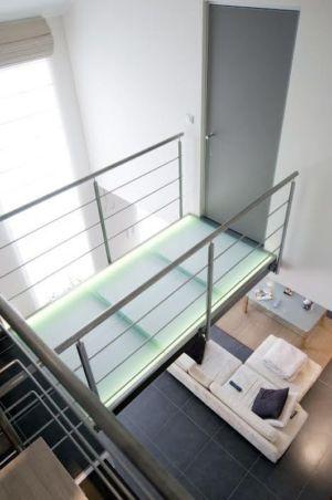 palier - Maison S par Thierry Noben - Nospelt Luxembourg
