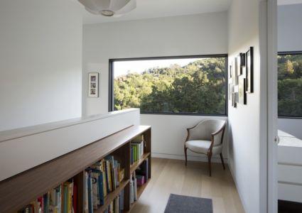 palier étage - résidence d'été par Shands Studio Architects - San Anselmo, Usa
