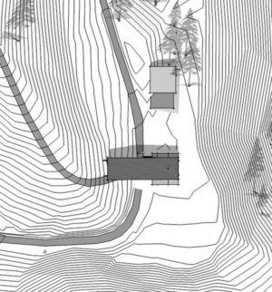 pan de masse - Nahahum Canyon House par Balance Associates - Nahahum Canyon, Usa