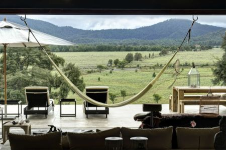 panorama - Casa BS par  Elías Rizo Arquitectos - Tapalpa, Mexique