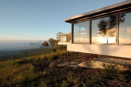 panorama - High Country House par Luigi Rosselli Architects - Armidale, Australie