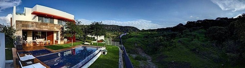 panorama - House-S par Lassala Elenes Arquitectos - Zapopan, Mexique