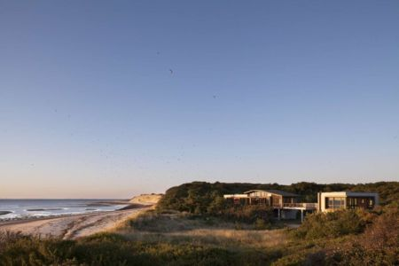 panorama - House of Shifting Sands par Ruhl Walker Architects - Wellfleet, Usa