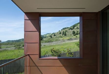 panorama - In-Out par Wnuk Spurlock Architecture - Stinson Beach, Californie, USA