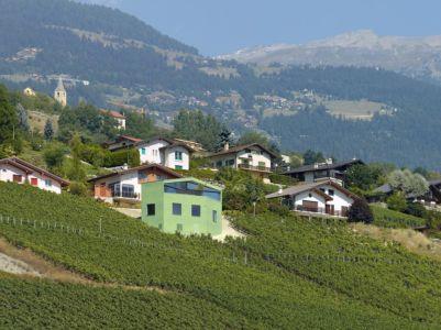 panorama - Maison Iseli par François Meyer architecture - Venthôme, Suisse