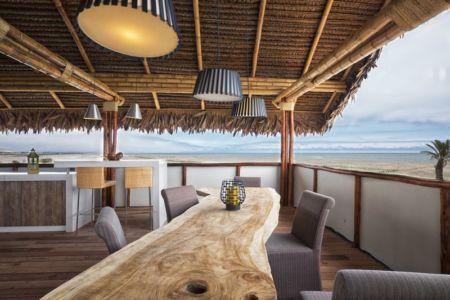 panorama depuis terrasse - House in Playa del Carmen par YUPANA Arquitectos - Chincha Alta, Pérou