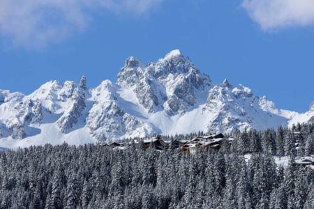 panorama sur Alpes - Luxury Chalet et Jean-Marc and Anne-Sophie Mouchet - Courchevel, France
