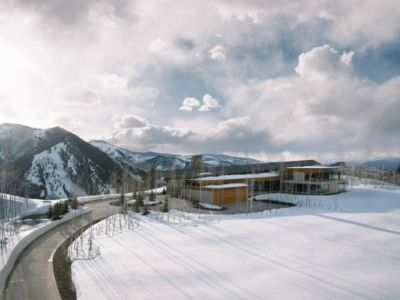 panorama sur les montagnes - Wildcat Ridge residence par Voorsanger Architects - Aspen, Usa