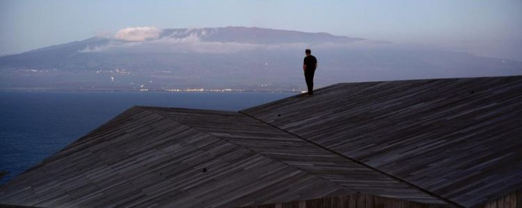 panorama terrasse - Clifftop House Maui par Dekleva Gregoric Arhitekti - Maui, Hawaï
