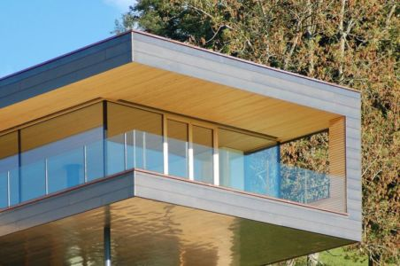 parrtie porte à faux - house-dornbirn par KM Architektur en Suisse