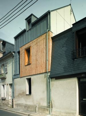 partie agrandie - Agrandissement surévélavation par atelier 100 architecture - Tours, France
