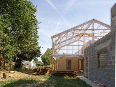 partie arrière - Maison D par Fouquet Architecture - Coueron, Loire-Atlantique, France.jpg