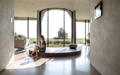 partie centrale - W.I.N.D House par UNStudio - Pays-Bas