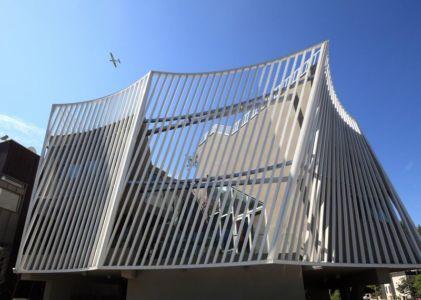 partie convexe de la façade - Kyeong Dok Jai par Uroje Khm Architects - Corée du Sud