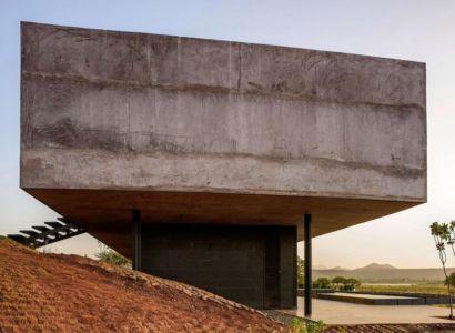 partie porte à faux - Panorama-House par Ajay Sonar - Nashik, Inde