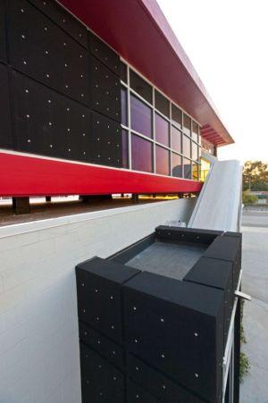 partie supérieure  - Flute house par The Think Shop Architects - Royal Oak , Usa