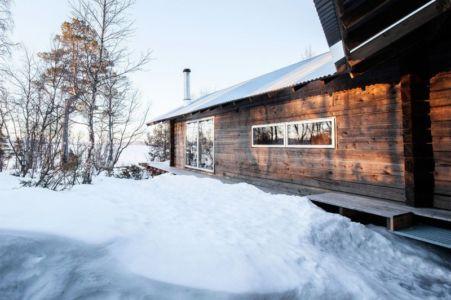 partie supérieure cabane - femunden par Aslak Haanhuus Arkiekter - Femund, Norvege
