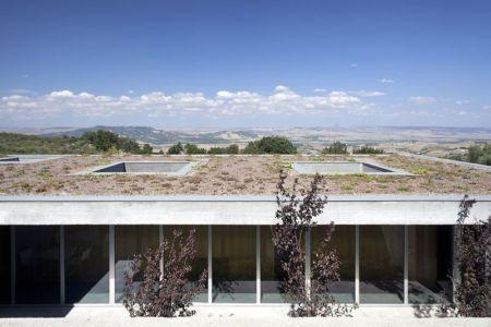 partie toit végétalisé - Residenza Privata par Osa Architettura - Basilicata, Italie