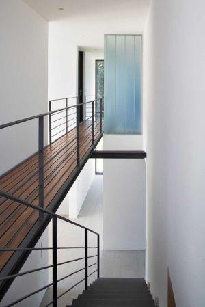 passerelle étage - Maisons bois contemporaines par Zamel Krug Architekten - Hagen, Allemagne