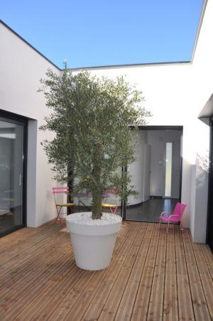 patio - Apple-House par Val de Saône Bâtiment - Mâcon, France
