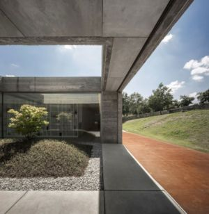 patio - Sambade House by spaceworkers - Penafiel, Portugal