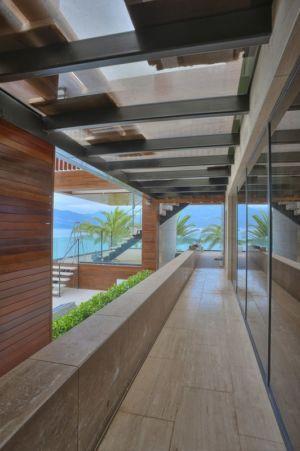 patio - Touristic Villa 'S, M, L' par studio SYNTHESIS - Tivat, Montenegro