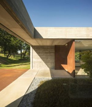 patio et entrée - Sambade House by spaceworkers - Penafiel, Portugal