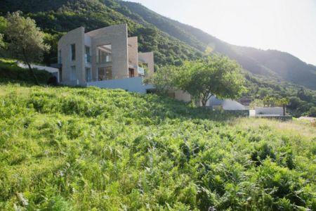 paysage autour de - Vila-Stoliv par Enforma Architectural Studio - Montenegro