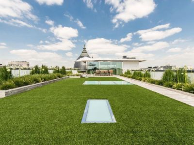 pelouse - vue à 360 degrés - Bruxelles, Belgique