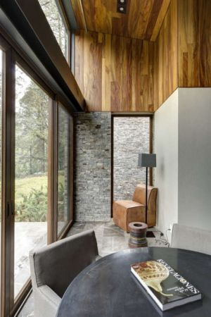 petit salon - Casa MM par Elías Rizo Arquitectos - Mexique